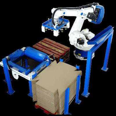 Robot formador de cajas
