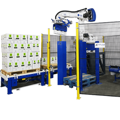 Box Palletizing Robot