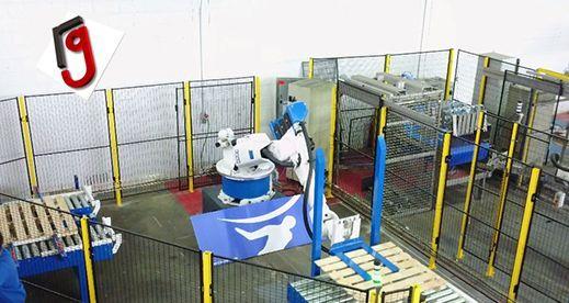 Robot paletizador de palets