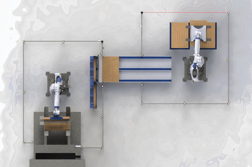 robot apilador de palets