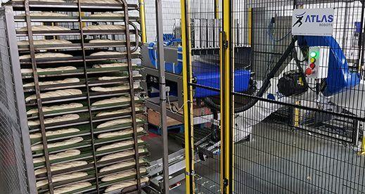 Robot Manipulador de bandejas de pan - Fabricante