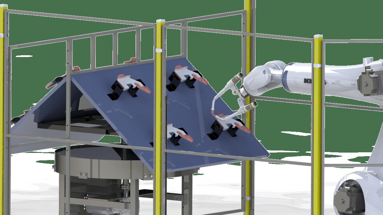 robot soldador