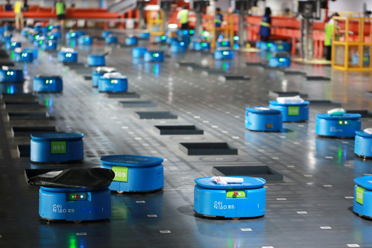 robot agv industrial
